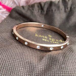 Kate Space hinged bracelet